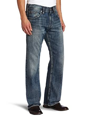 Silver Jeans Men's Zac Relaxed Fit Jean, Indigo, 30x30