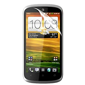 C.Skins 3 -Pack Premium Clear Screen Protector for HTC ONE VX Invisible LCD Guard Cover