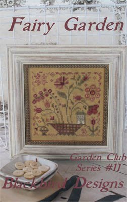 Fairy Garden- Garden Club #11 Cross Stitch Chart and Free Embellishment (Chart Stitch Cross Garden)