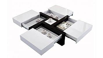 Tiroirs 4 Table Basse Nitro Mobilier Design Larvik H9ED2IYW