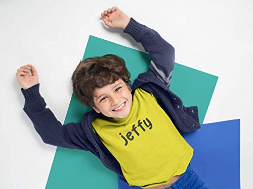Jeffy Youth Shirt Yellow Funny Halloween Costume Kids Customized Handmade T-Shirt Hoodie/Long Sleeve/Tank Top/Sweatshirt
