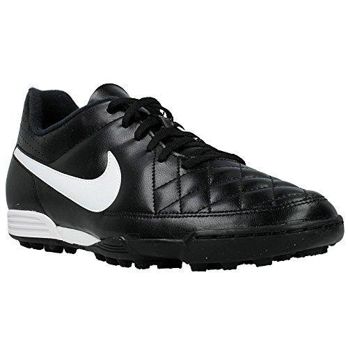 NikeTiempo Rio II TF - zapatillas de fútbol hombre Blanco-Negro