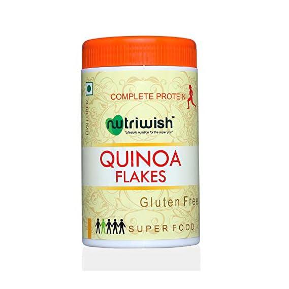 Nutriwish Premium Quinoa Flakes, 250g