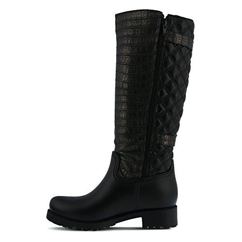 Spring Black Boot Women's Sauna Step Rain rwrTU6