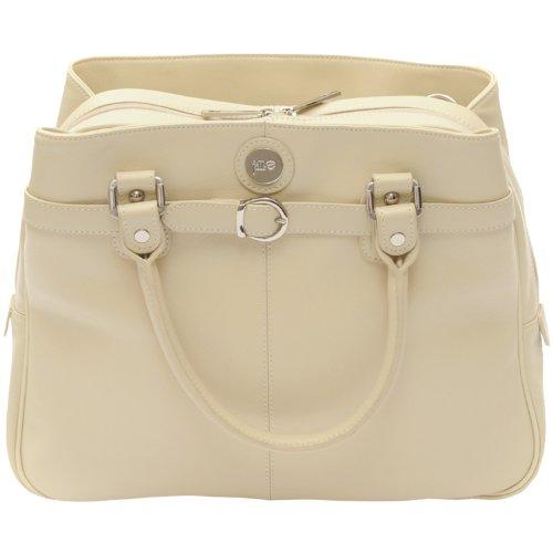 Ego Wristlet - Jill-e Designs E-GO Career Bag - Vanilla Leather (373496)