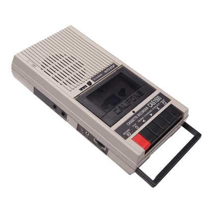 Califone International Cassette Player & Recorder