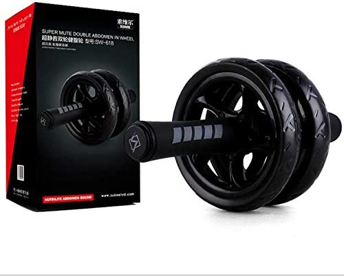 None//Brand The new silent two-wheeled abdominal wheel sports abdomen roller abdominal wheel fitness equipment abdominal muscle wheel