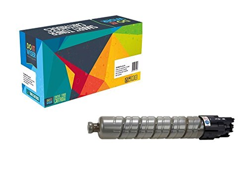 Do it Wiser Compatible Toner Cartridge for Ricoh Aficio MP C4501 MP C5501 MPC4501 MPC5501 Savin C9145 C9155 Lanier LD645c LD655c - 841452 - Black