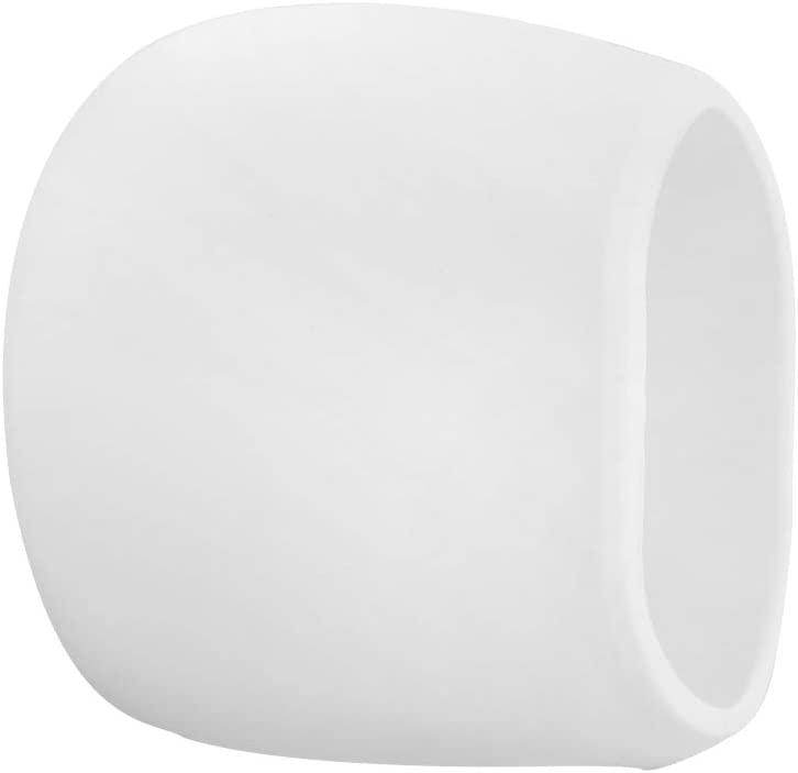 Pack de 1 Paquete de Silicona para Arlo Cameras Funda Protectora Resistente a la Intemperie, Blanco