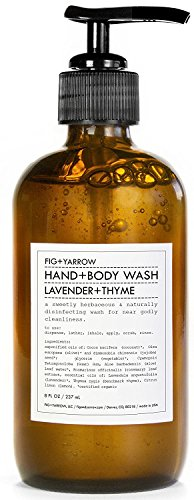 Organic Hand+Body Washes (Lavender+Thyme)