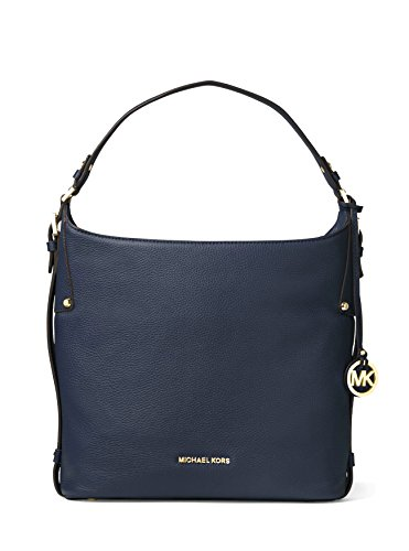 MICHAEL MICHAEL KORS Womens Bedford Large Leather Shoulder Bag Handbag (Admiral) by Michael Kors
