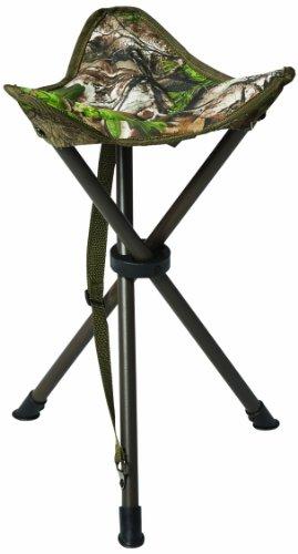 Hunters Specialties Camo Furniture Tripod Stool, Realtree Xtra Green