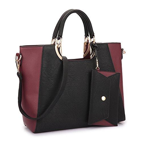 MMK collection Fashion Handbag with coin purse Classic Women Purse Handbag for Women~Signature fashion Designer Women Satchel Purse ~ Beautiful Designer Purse & Women Satchel Purse