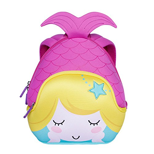 Alnaue Toddler Kids Pre School Bag Cute Mermaid Cartoon Children School Backpack by Alnaue