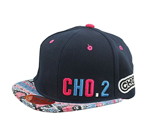 Bayto Fashion New Snapback Hats Unisex CHO.2 Floral Baseball Cap Navy Cotton Bboy Hat