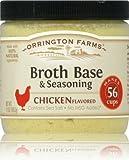 Orrington Farms Natural Chicken Flavored Broth Base-3 (THREE) 12oz Jars by Orrington Farms