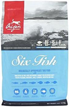 Oferta amazon: Orijen 6 Fish Comida para Perros - 6000 gr