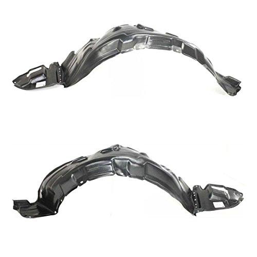 (For 03-08 Corolla Front Splash Shield Inner Fender Liner Left & Right SET PAIR)