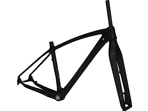 Flyxii Full Carbon Matt 29ER MTB Mountain Bike Frame BB30 19'' Fork by flyxii