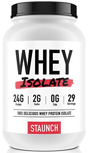 Staunch Whey Isolate (Hot Chokkie) 2 LBS - Premium, High Quality Whey Protein - Whey High Protein Quality