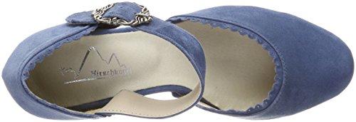 Hirschkogel 3005715, Escarpins Bout Fermé Femme, Noir Bleu (Jeans 274)