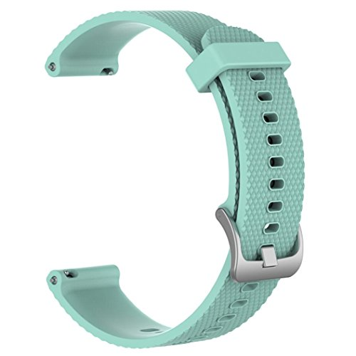 Outsta for Xiaomi Amazfit Bip Youth Watch Band,Replacement Soft Silicagel Sports Watch Band Strap Accessories Smart Watch Bracelet Band Women Men Multicolor (Mint ()
