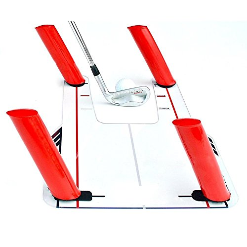 Gracefulvara Portable Golf Swing Trainer Speed Rods Trap Base by Gracefulvara (Image #4)
