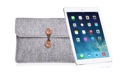 Bear Motion for 9.7-inch iPad Pro, New iPad 2017 and iPad Air - Premium Felt Sleeve Case for iPad Air, iPad Air 2 and 9.7-inch iPad Pro 9.7 Inch Tablet