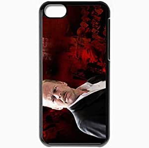 Personalized iPhone 5C Cell phone Case/Cover Skin 16 Blocks Bruce Willis Jack Mosley face Movies Black