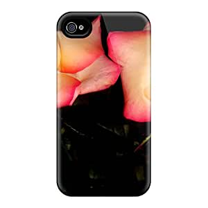 Iphone High Quality Tpu Case/ Double Delightful Roses UzS160Djtn Case Cover For Iphone 4/4s