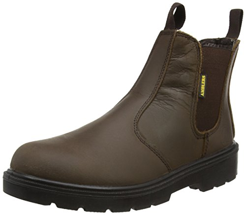 Amblers Unisex Stål Fs152 Sb-p Midten Boot / Menns Kvinners Støvler (8 Oss) (brun)