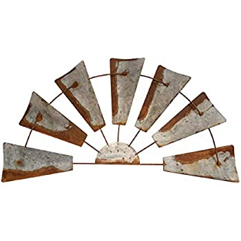 Rustic Farmhouse Windmill Wall Decor -20