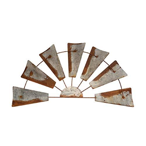 Rustic Farmhouse Windmill Wall Decor -32