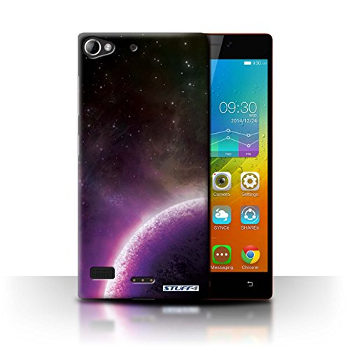 STUFF4 Phone Case / Cover for Lenovo Vibe X2 / Purple Planet Design / Space/Cosmos Collection