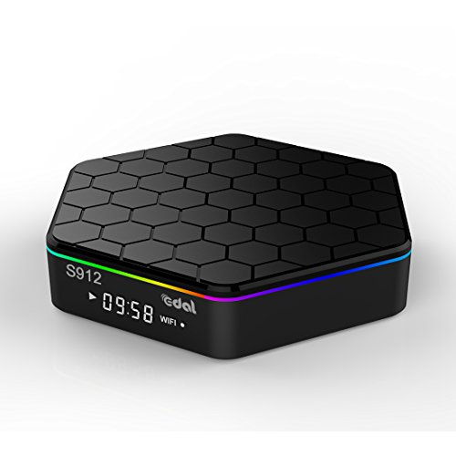 Norbi Android TV Box, KM8P 2+8G Pro Android 6.0 Amlogic S912 Quad Core TV Box