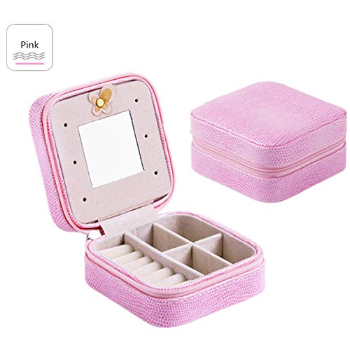 - Jewelry Packaging Box Casket Box for Exquisite Makeup Case Cosmetics Beauty Organizer Container Boxes Graduation Birthday Gift,SHEPIFENXIAO