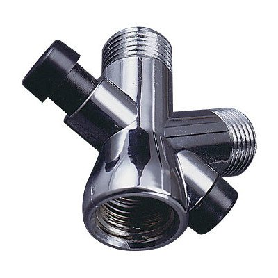 Plumb Craft 7657500B Shower Diverter Valve, Chrome