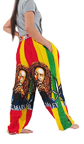 ''HIT HOT'' REGGAE HIPPIE (COTTON RAYON)Pants Pregnancy Yoga Massage Beach Summer by Hit Hot Fashion