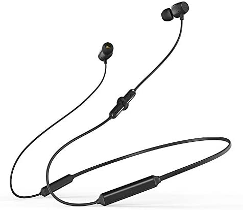 Bluetooth Headphones, Magnetic Wireless Sports Earphones,IPX5 Waterproof, with Microphone, Calls HD HiFi Stereo Sound with Bass,Workout Running Sport Noise Cancelling headsets Headset Black