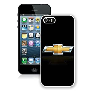 Hot Sale iPhone 5 5S Screen Case ,chevrolet logo 1 White iPhone 5 5S Cover Unique And Popular Designed Phone Case