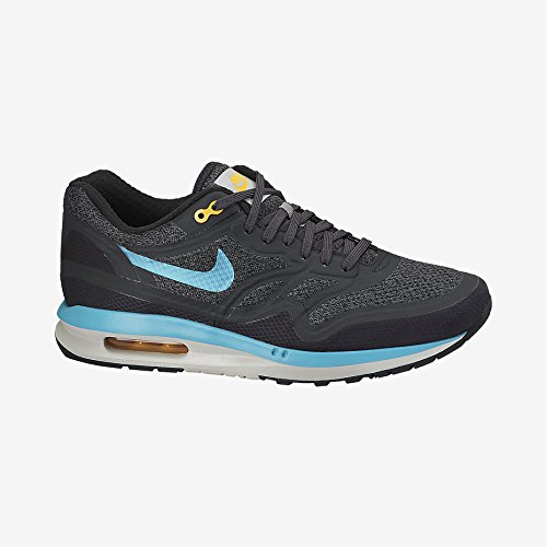 Nike Men's Air Max Lunar1 Wr Dark Ash/Dusty Cactus/Lsr Orng Running Shoe 9 Men US