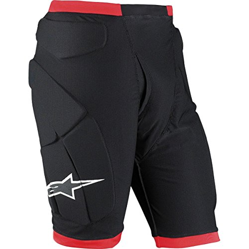 Alpinestars Comp Pro Shorts (Black/Red, Small)