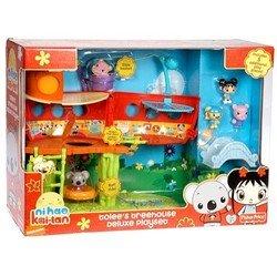 Amazon.com: Ni Hao Kai-lan Tolee's Treehouse Deluxe Playset: Toys & Games