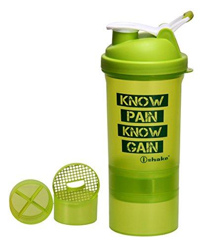 ishake Matrix Soot Plastic Shaker Bottle