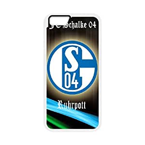 Lovely FC Schalke 04 Phone Case For iPhone 6,6S 4.7 Inch A55961