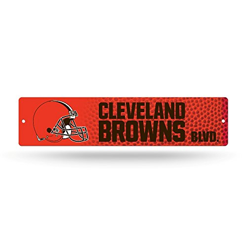 NFL Cleveland Browns High-Res Plastic Street Sign