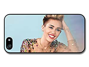 Miley Cyrus Smiling with Gem Set Dress Photoshoot Case For HTC One M7 Cover