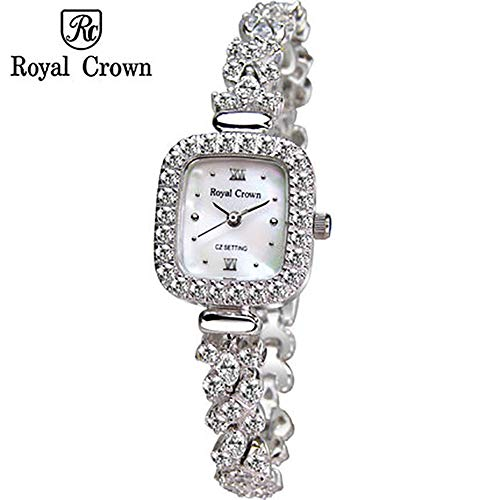 RedBrowm Royal Crown Women's Quartz Jewelry Wrist Fashion Watch from RedBrowm-Watch