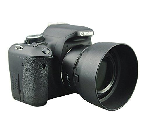 Fotasy - Tapa de lente de bayoneta dedicada para Canon EF 50 mm f /1,8 STM, Canon 50 mm de 1,8 STM, reemplazo de la tapa de lente Canon ES-68