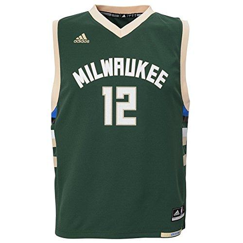 NBA Boys 4-7 Milwaukee Bucks Parker Away Replica Jersey-Hunter-L(7) (Z La Boy Charlotte)